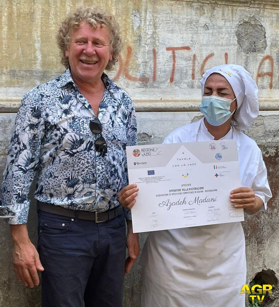 ASL Roma 1. Integrarsi con la scuola di cucina del progetto FARI 2