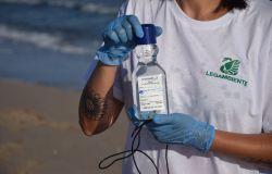 legambiente prelevamento campione acqua marina