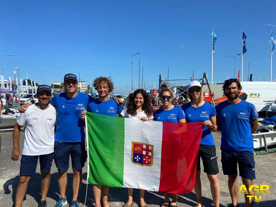 Vela festa azzurra ai mondiali junior di Gydini (Polonia)