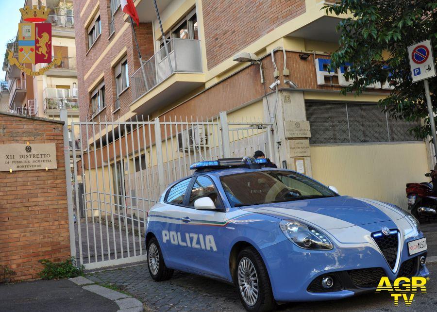 Rapina Ponte Mammolo Polizia
