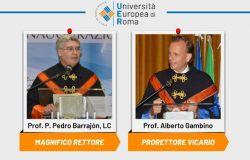 CDA Università Europea di Roma: Confermate all'unanimità le cariche del Magnifico Rettore e del Prorettore Vicario