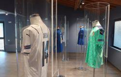 Il Museo del Calcio di Coverciano mostra le maglie dei campioni d'Europa
