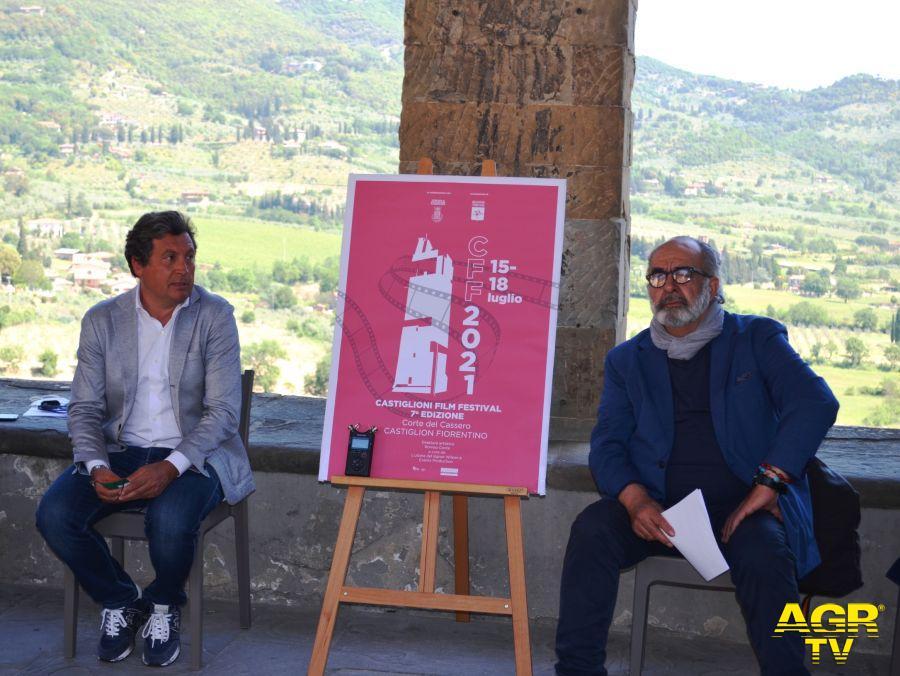 Il Sindaco Mario Agnelli e il Direttore Artistico Romeo Conte