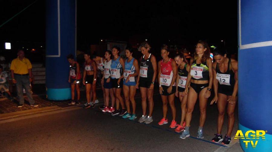 Fiumicino, atletica leggera, gara in notturna ad eliminazione diretta