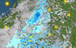 radar piogge in Germania  foto Meteo & Radar