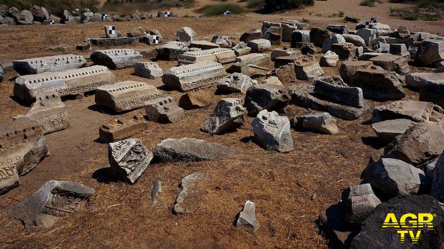 ritrovamenti archeologici scavi Roma