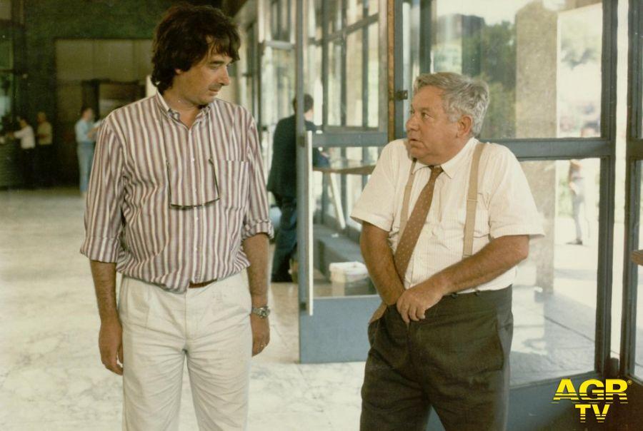 Paolo Villaggio con Neri Parenti