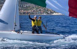 Mondiale 470 mixed a Sanremo Marco Gradoni ed Alessandra Dubbini