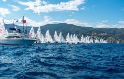 Mondiale 470 a Sanremo 2021 partenza regata