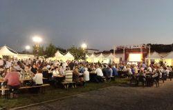 Festa dell'Unità l'area ristoro