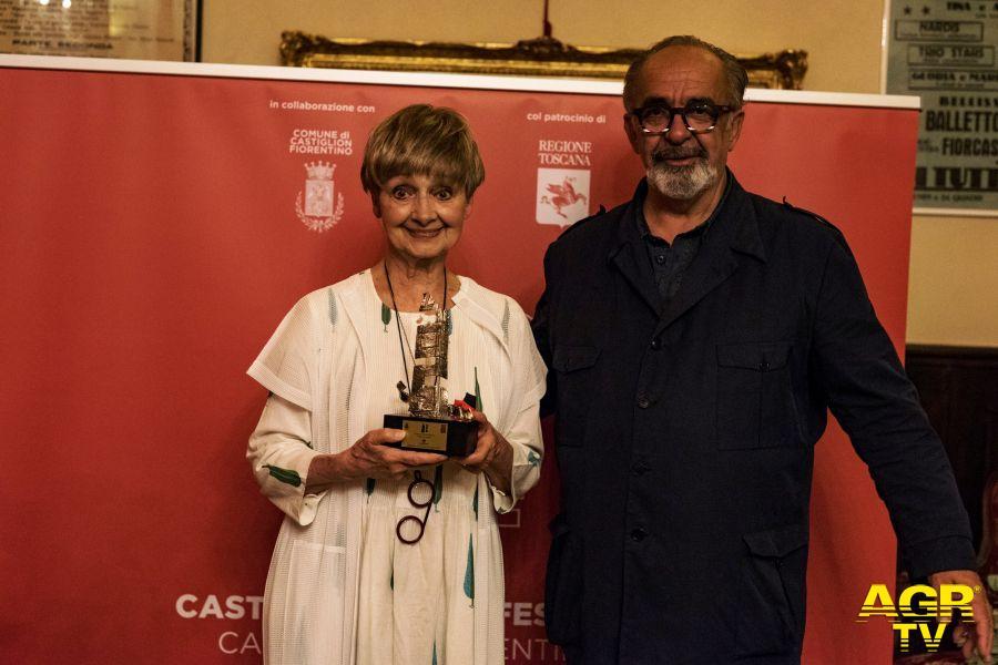 Milena Vukotic e Romeo Conte @Castiglioni Film Festival