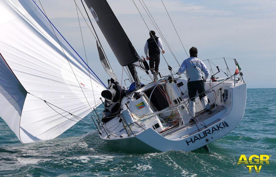 Hauraki X2 in navigazione