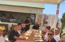 Focene spiaggia dei disabili area pranzo