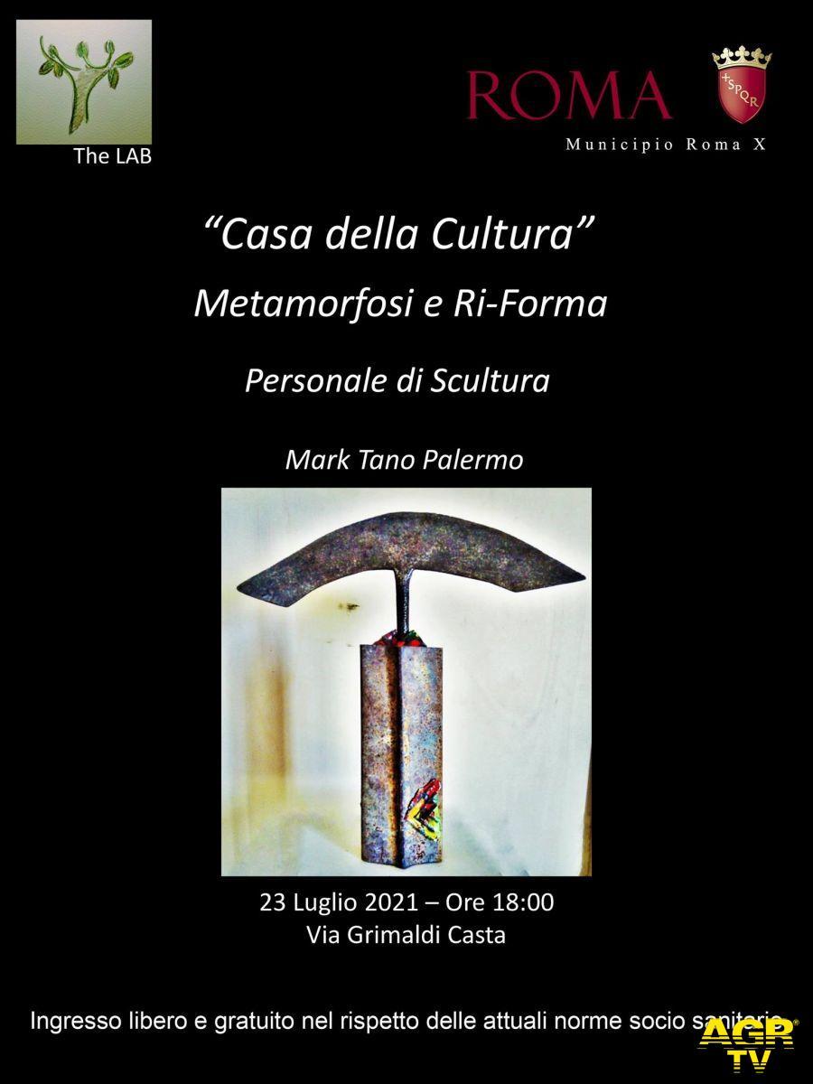 Ostia, Metamorfosi e ri-forma, una mostra di Mark Tano Palermo