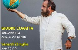 Valcanneto, venerdì in scena lo spettacolo di Giobbe Covatta
