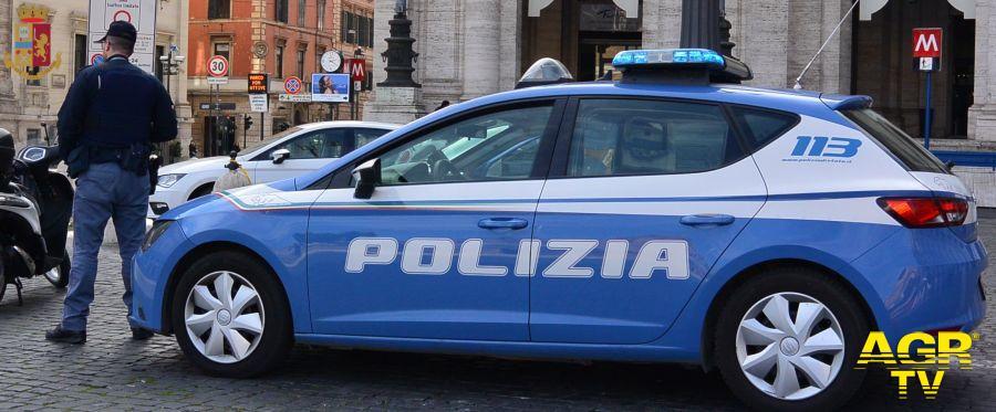 agenti del commissariato Sant'Ippolito