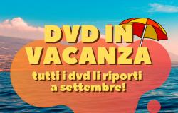 Speciale cinema con DVD in vacanza