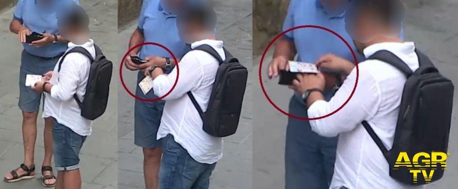 Questura di Firenze Borseggia un anziano turista in pieno Centro: arrestato dalla Polizia di Stato  Borseggio in Via Avelli (Fonte immagine Polizia di Stato)