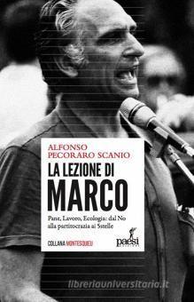 La lezione di Marco...... libro Pecoraro Scanio
