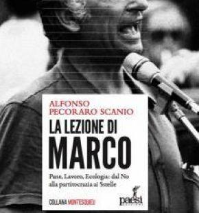 """""""La lezione di Marco........ presentato in Campidoglio a Roma il libro su Marco Pannella di Alfonso Pecoraro Scanio"""