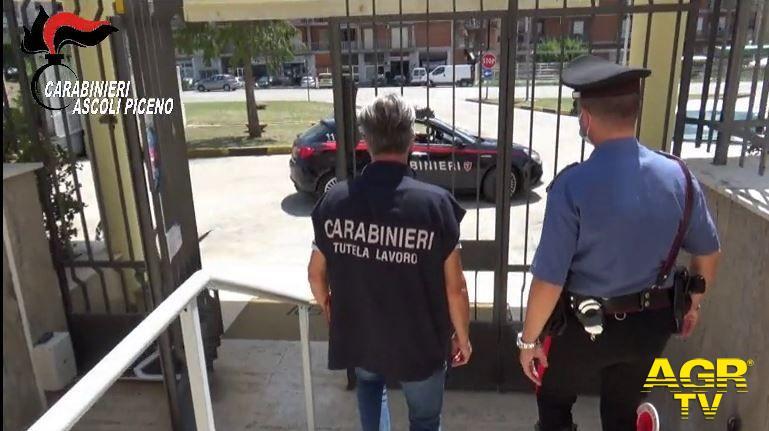 Carabinieri del Nucleo Ispettorato del Lavoro di Ascoli Piceno