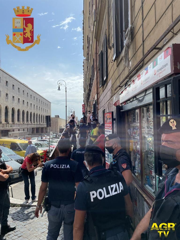 Termini: arresti, denunce, locali chiusi e licenze sospese, il bilancio dell'operazione interforze di ieri