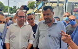 Bordoni e Salvini incontrano gli operatori dei mercati