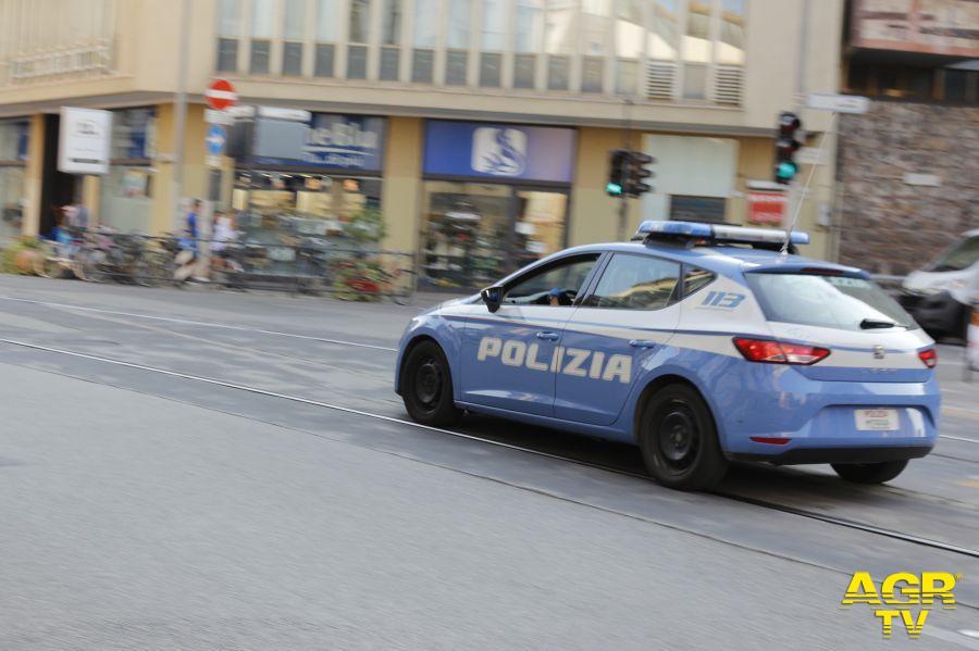 Polizia di Stato Reparto Prevenzione Crimine Toscana.