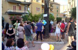 Ostia, inaugurata la prima piazza della gentilezza