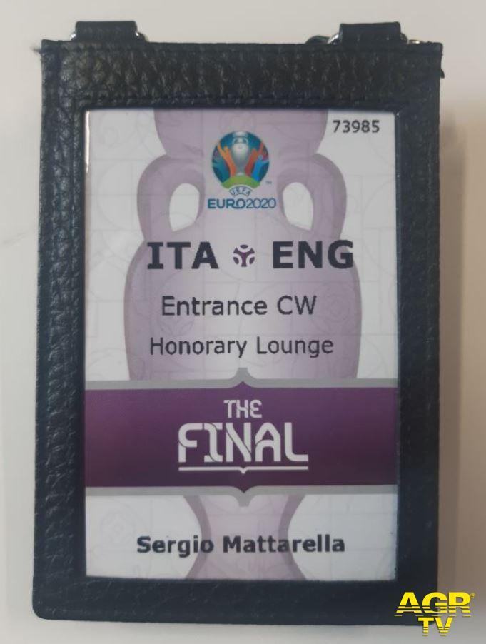 Redazione Met Sport Al Museo del Calcio il pass del Presidente Mattarella alla finale Italia-Inghilterra
