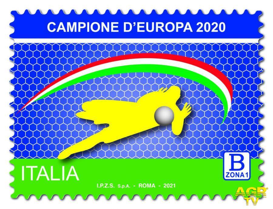 Italia Campione d'Europa di calcio, l'ultimo regalo delle poste ai filatelici