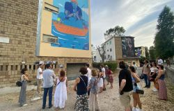 Fiumicino, il Villaggio Azzurro diventa la città dei murales