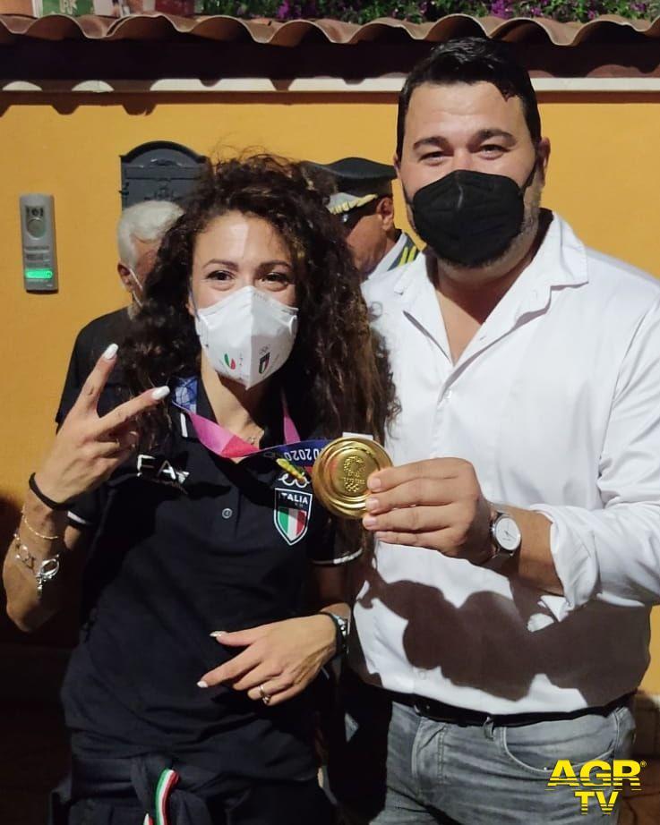 Antonella Palmisano con Alessandro Ieva