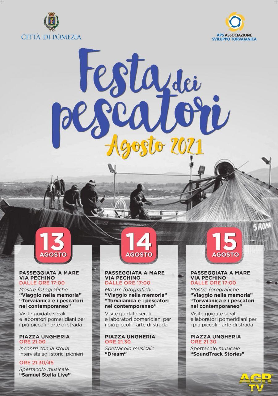 Festa dei Pescatori il 13, 14 e 15 agosto