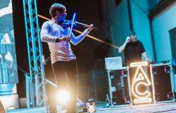 Ferragosto, il violinista Jedi Andrea Casta in concerto sulle Dolomiti