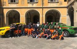 Due nuovi mezzi antincendio per Vab e Volontari del Csn
