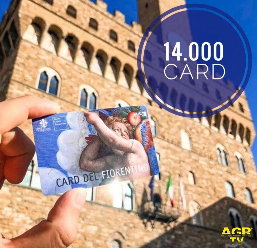 Comune di Firenze Card del fiorentino, la vendita ha raggiunto quota 14mila