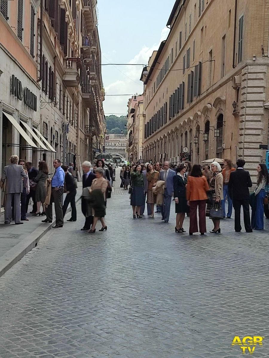 Ciak in Piazza di Spagna