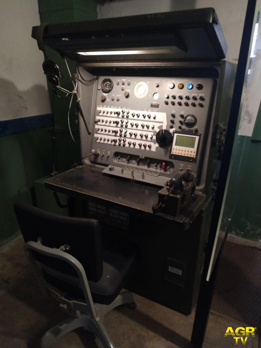 Strumenti all'interno del Bunker