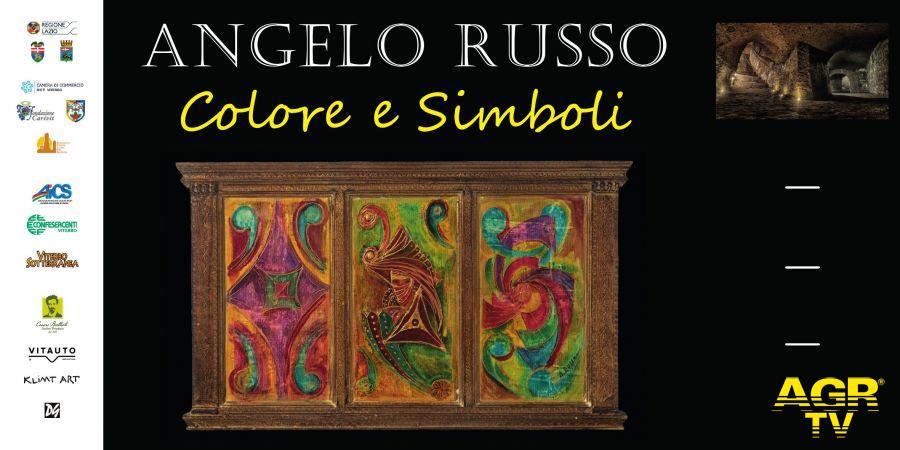 Viterbo Sotterranea, Angelo Russo presenta Colori e Simboli