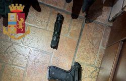 pistola utilizzata