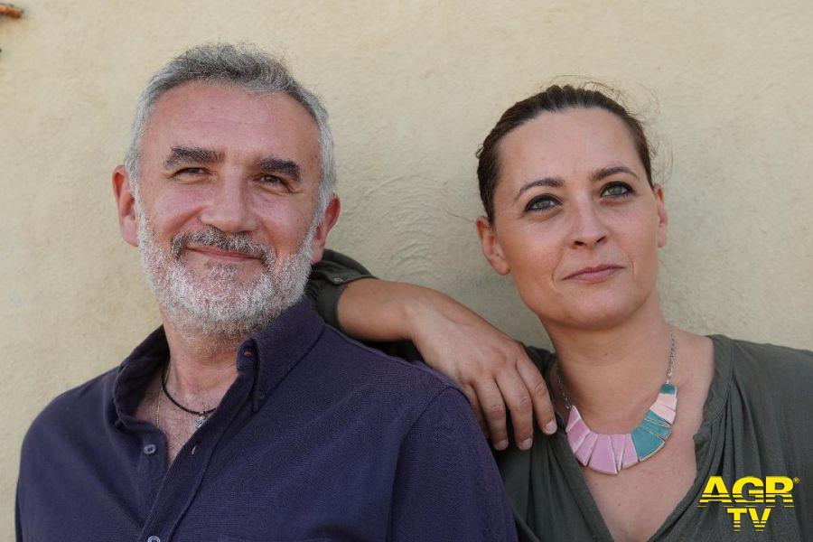 L'inizio del buio foto attori Sara Valerio e Giancarlo Fares