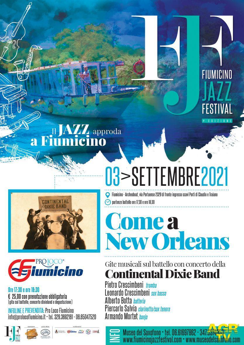 Fiumicino Jazz Festival gli eventi del 3 settembre