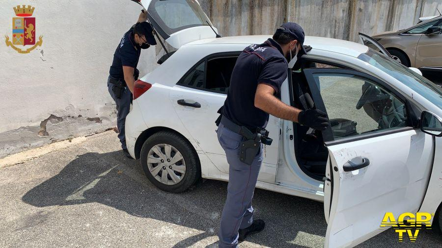 Fregene, folle inseguimento su via Castellamare, due arresti