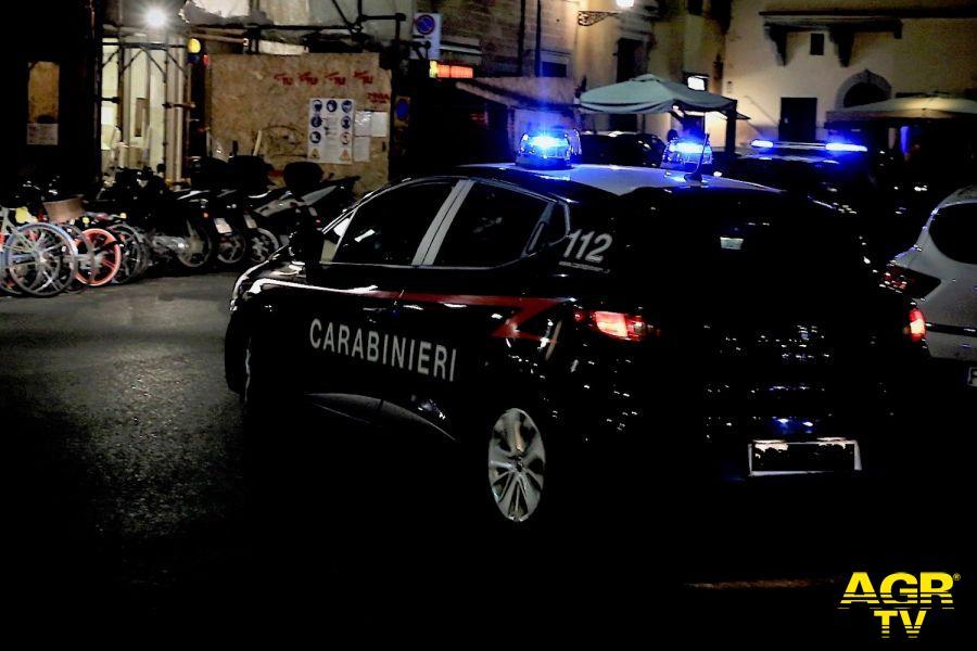 Carabinieri-Comando provinciale di Firenze Carabinieri. Denunciate 6 persone nel corso dei servizi notturni di controllo del territorio