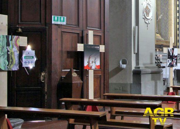 Diocesi di Prato Furto nella chiesa di San Domenico a Prato, rubata un'opera d'arte della mostra «Noli me tagere»
