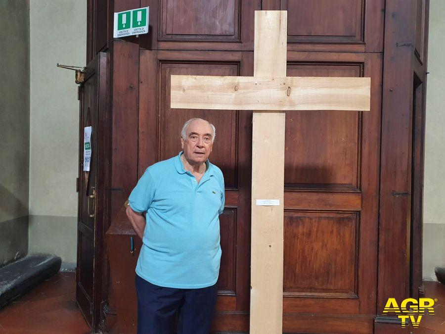 Diocesi di Prato Furto nella chiesa di San Domenico a Prato, rubata un'opera d'arte della mostra «Noli me tagere