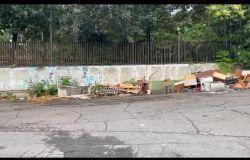 discariche per le strade di roma