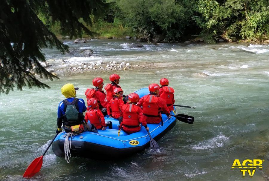 Rafting nel fiume Noce