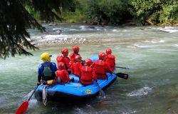 Divertito allo stato puro Rafting
